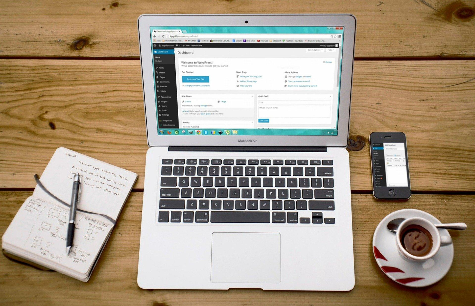 individuellen Business-Website